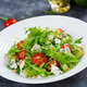 Dietary salad with tomatoes, blue cheese, avocado, arugula and pine nuts. - PhotoDune Item for Sale