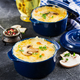 Baked mushroom julienne with chicken and cheese in  pots. - PhotoDune Item for Sale