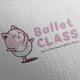 Ballet Class Logo Design - GraphicRiver Item for Sale