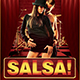 Salsa Caliente Flyer Template - GraphicRiver Item for Sale