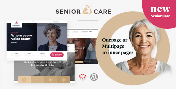 Senior | Health and Medical Care WordPress Theme