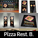 Pizza Restaurant Advertising Bundle Vol.3 - GraphicRiver Item for Sale