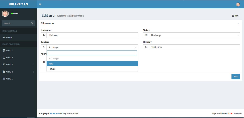 Asp net Core Easy CRUD MVC