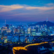 Seoul skyline in the night, South Korea - PhotoDune Item for Sale
