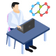 Scientific Laboratory Isometric Icon - GraphicRiver Item for Sale