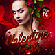 Valentine Party Flyer Template 2 - GraphicRiver Item for Sale