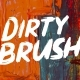 Dirty Brush Font - GraphicRiver Item for Sale