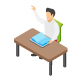 100 Education Isometric Icons - GraphicRiver Item for Sale