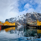 Nusfjord fishing village in Norway - PhotoDune Item for Sale