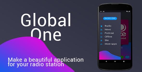 Global (single radio station) Android - CodeCanyon Item for Sale