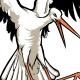 Stork Flying - GraphicRiver Item for Sale
