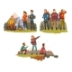 Men Travelling Together, Camping People, Tourists - GraphicRiver Item for Sale