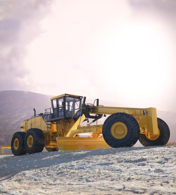 Motor Mining Grader Caterpillar 24M - 3DOcean Item for Sale