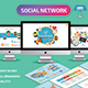 Social Network Keynote Presentation - GraphicRiver Item for Sale