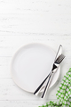 Empty plate with cutlery - PhotoDune Item for Sale