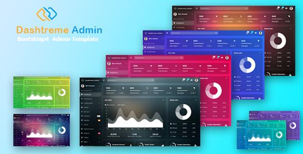 Dashtreme - Multipurpose Bootstrap4 Admin Template