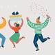 People Celebrate - GraphicRiver Item for Sale