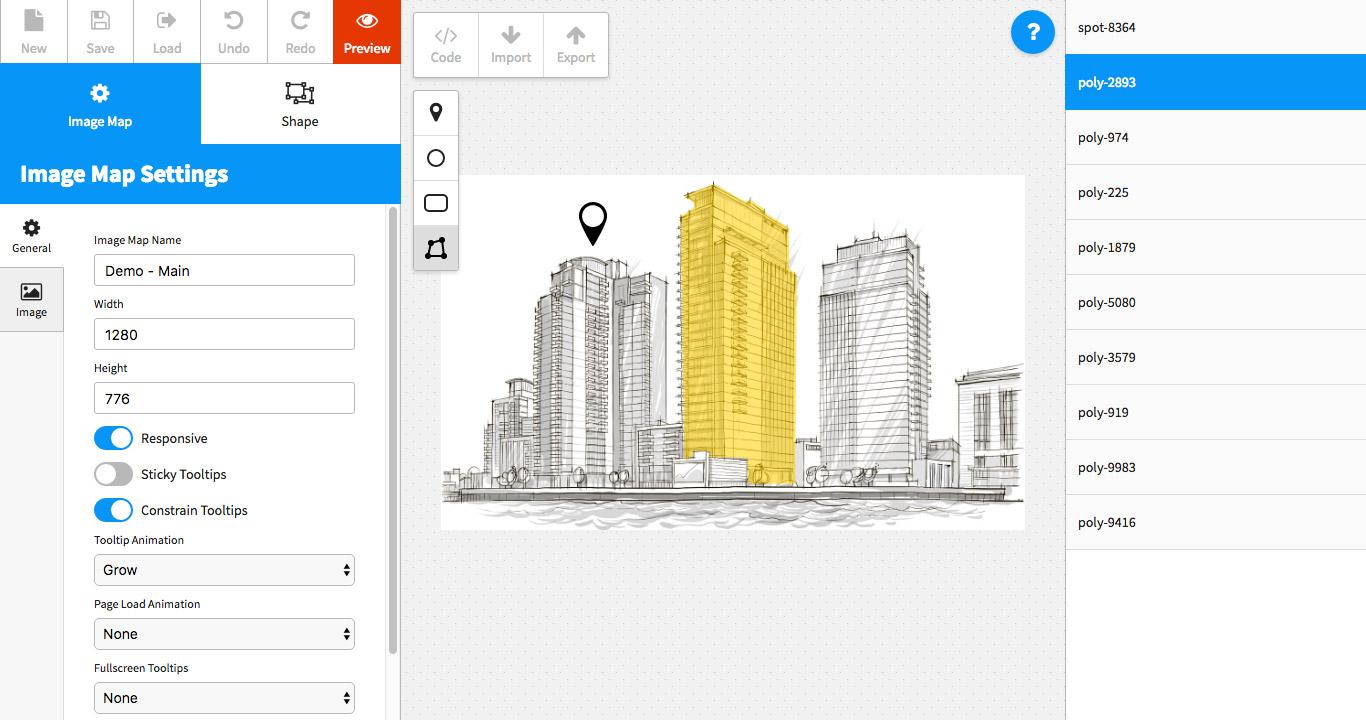 Image Map Pro - jQuery SVG Map Builder