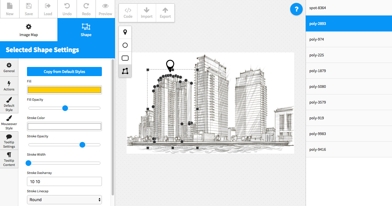 Image Map Pro - jQuery SVG Map Builder on animation generator, script generator, iphone generator,