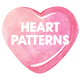 Watercolor Hearts Seamless Patterns - GraphicRiver Item for Sale