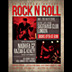 Rock Event Flyer / Poster - GraphicRiver Item for Sale