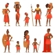 African People Vector - GraphicRiver Item for Sale