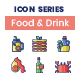 Food Drink Icons - Smooth Series - GraphicRiver Item for Sale
