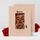 Burn Retro Editorial Lookbook Magazine - GraphicRiver Item for Sale