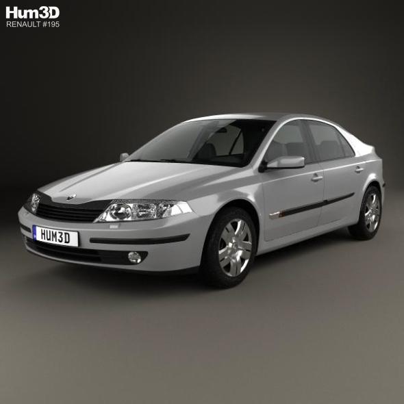 Renault Laguna liftback 2000