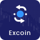 Excoin - Cryptocurrency Trading Dashboard Template - ThemeForest Item for Sale