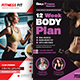Fitness Flyers Bundle Templates - GraphicRiver Item for Sale