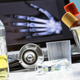 Several vials and blood sample next to stethoscope in a hospital, conceptual image - PhotoDune Item for Sale