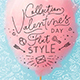 Valentine's Day Flat Style - GraphicRiver Item for Sale