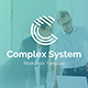 Complex System Pitch Deck Powerpoint Template - GraphicRiver Item for Sale