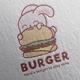 Burger Logo Design - GraphicRiver Item for Sale