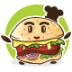 Cute Burger Logo - GraphicRiver Item for Sale