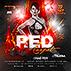 Red Carpet Party Flyer - GraphicRiver Item for Sale