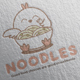 Noodle Logo Design - GraphicRiver Item for Sale