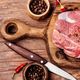Fresh uncooked raw meat beef - PhotoDune Item for Sale