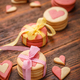 Cookies in the shape of hearts - PhotoDune Item for Sale