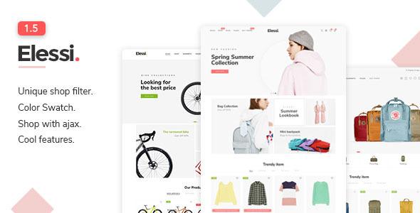 Elessi - Responsive Shopify Theme - Shopify eCommerce