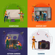 Electronics Repair Concept - GraphicRiver Item for Sale