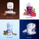 Deodorant Bottles 2x2 Design Concept - GraphicRiver Item for Sale