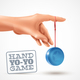 Hand Yoyo Game Background - GraphicRiver Item for Sale