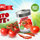 Tomato Paste Poster Ad - GraphicRiver Item for Sale
