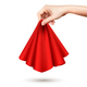 Hand Holding Cloth Realistic - GraphicRiver Item for Sale