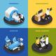 Neurology Concept Icons Set - GraphicRiver Item for Sale