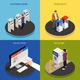 Elections Concept Icons Set - GraphicRiver Item for Sale
