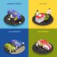 Car Dealership Concept Icons Set - GraphicRiver Item for Sale