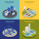 Water Cleaning Concept Icons Set - GraphicRiver Item for Sale